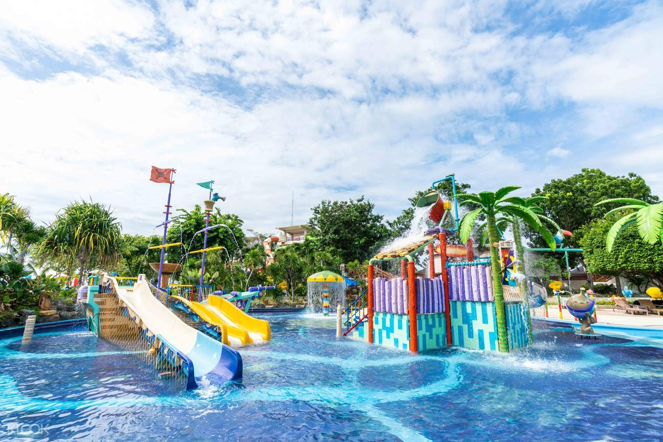 one of the pools of Jpark Island Resort and Waterpark
