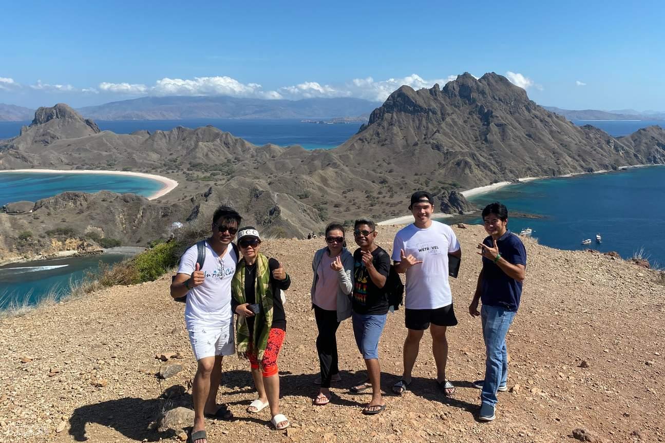 Hiking to Padar Island