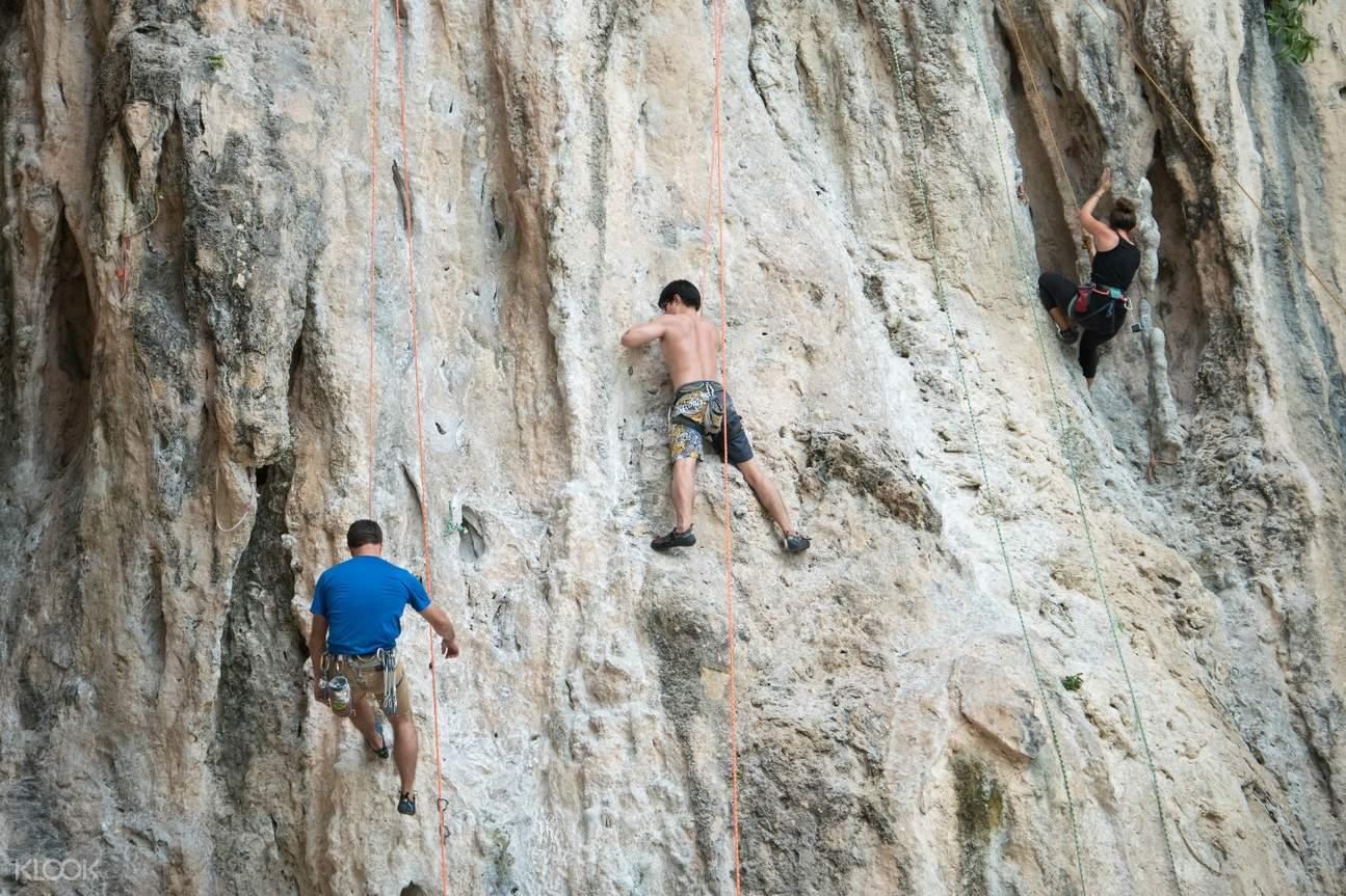 Rock Climbing in Railay