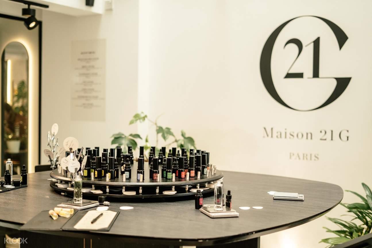 Complimentary Perfume Making Workshop