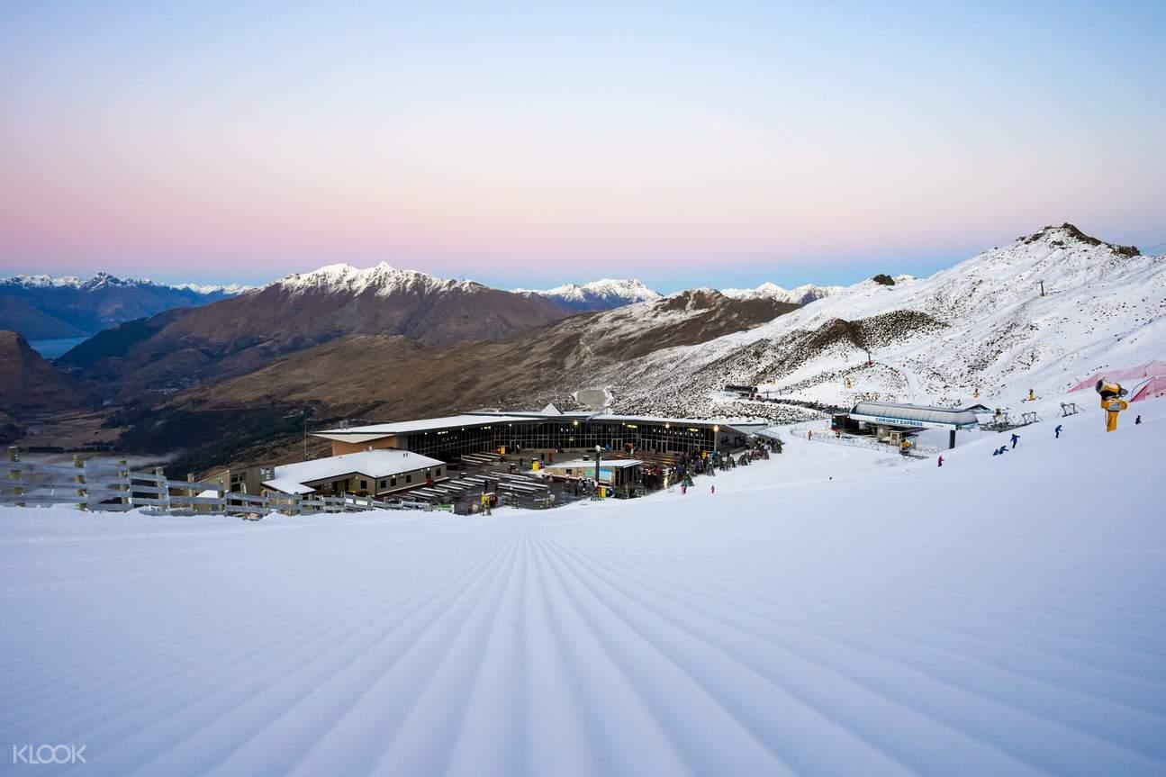 Ski at Coronet Peak Ski Resort with ski packages and transport