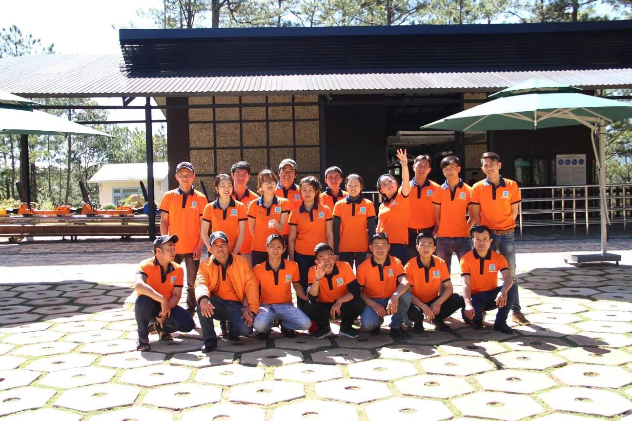 Staff at Datanla New Alpine Coaster in Da Lat