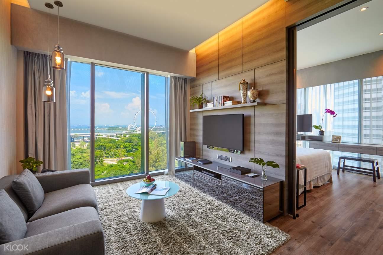 One Bedroom Premium Suite living room