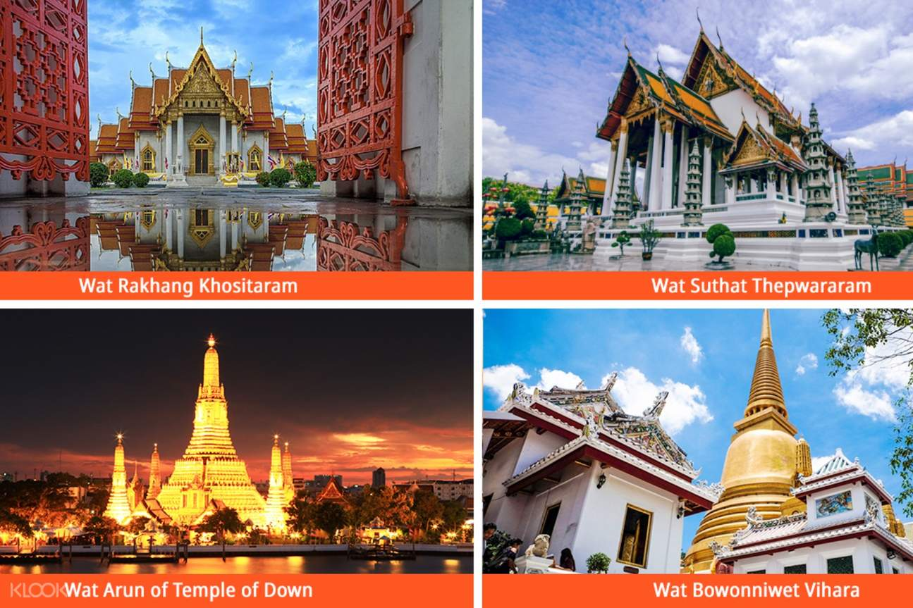 different temples in bangkok