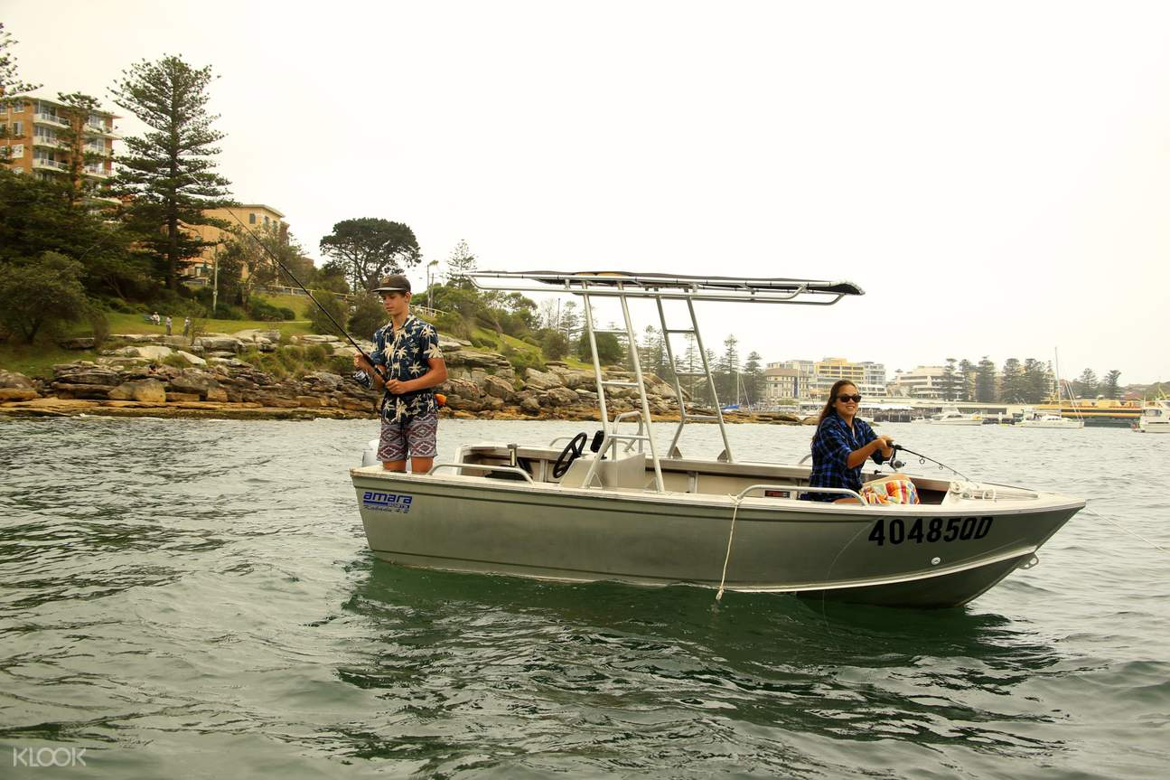 boat hire manly