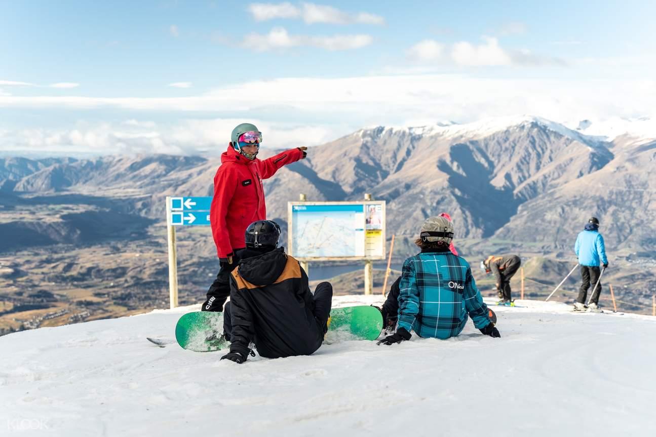 Coronet Peak beginner ski