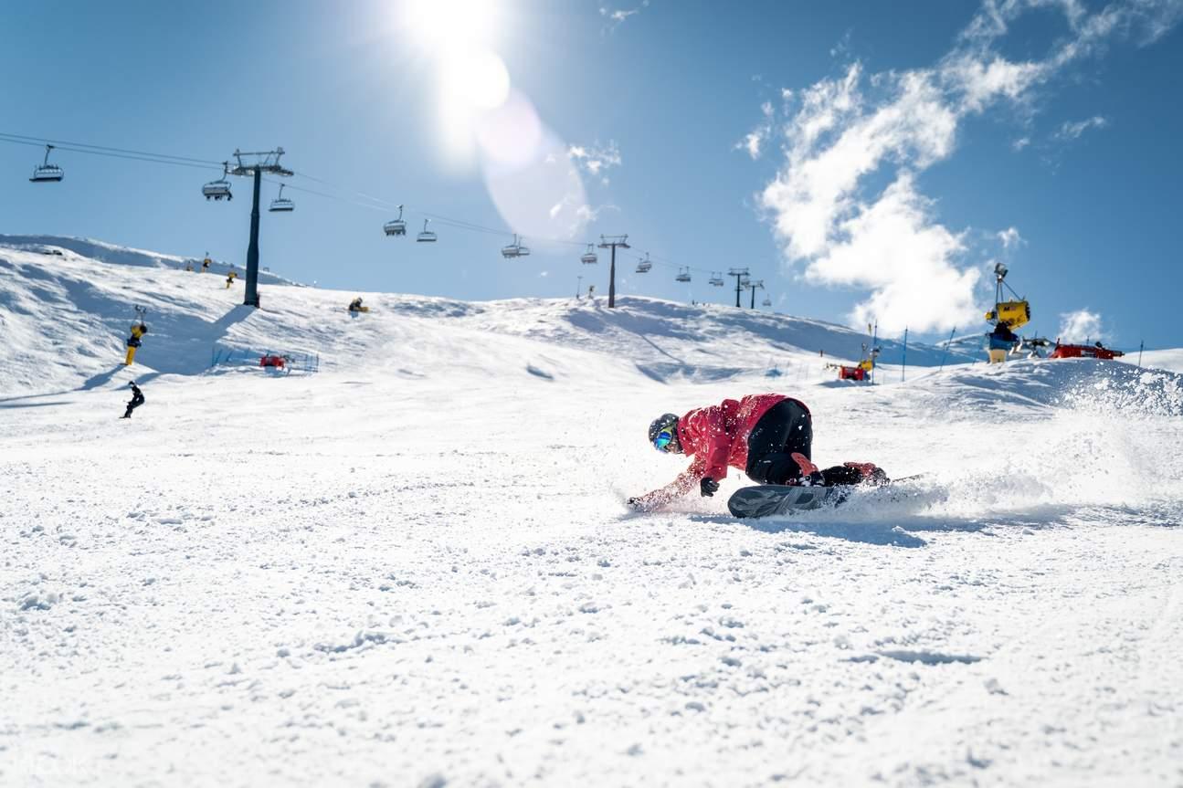 Coronet Peak beginner ski package