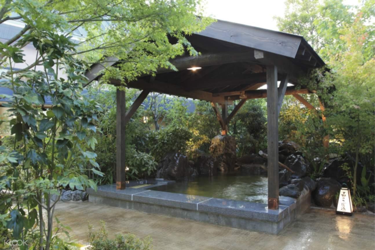 hot spring outside