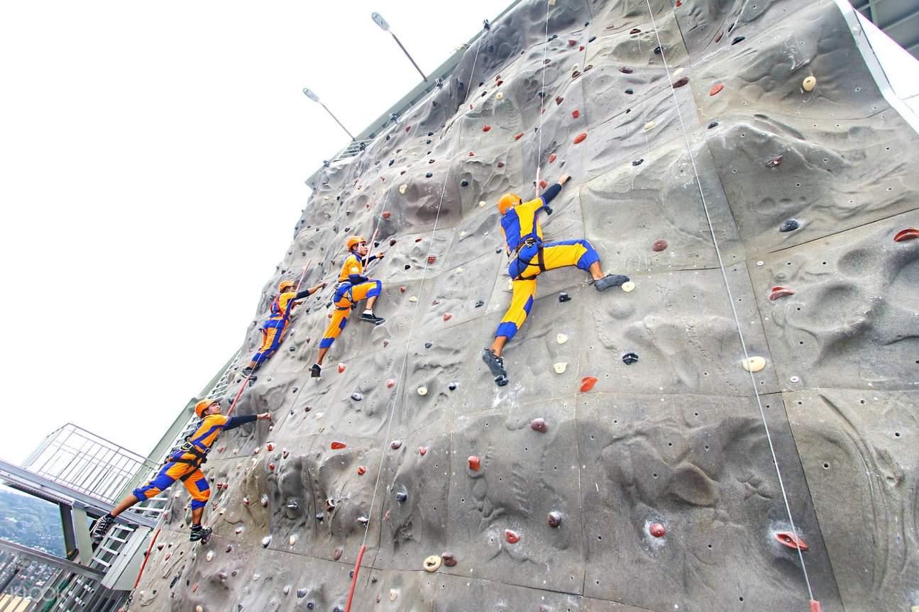 wall climbing in cebu