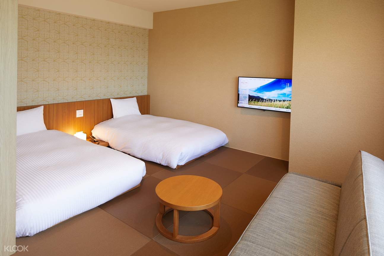 Spacious twin room will suit your comfort