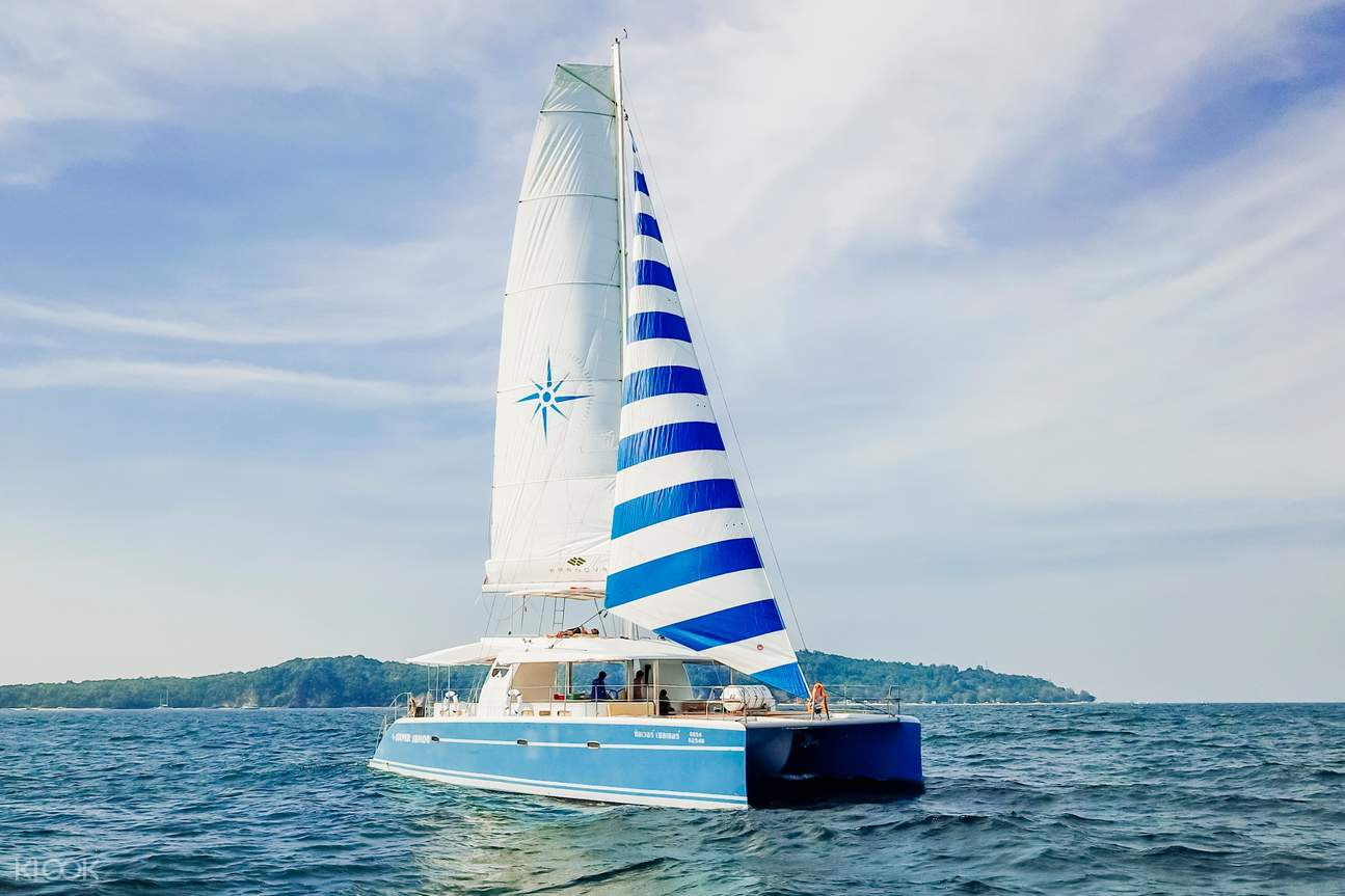 Choose between Silver Sailor Ms. Red for your sailing journey in Phuket