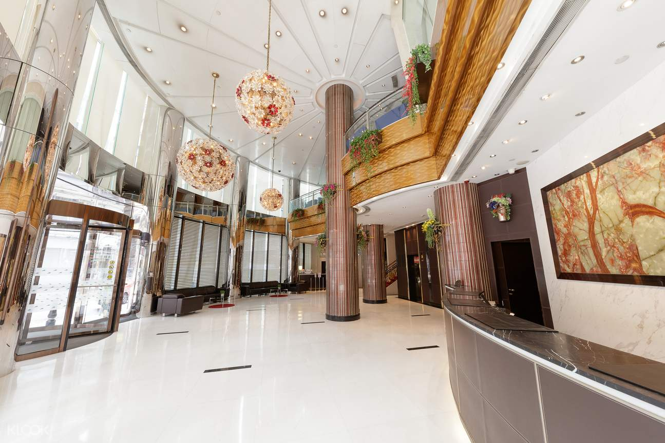 Lobby of South Pacific Hotel