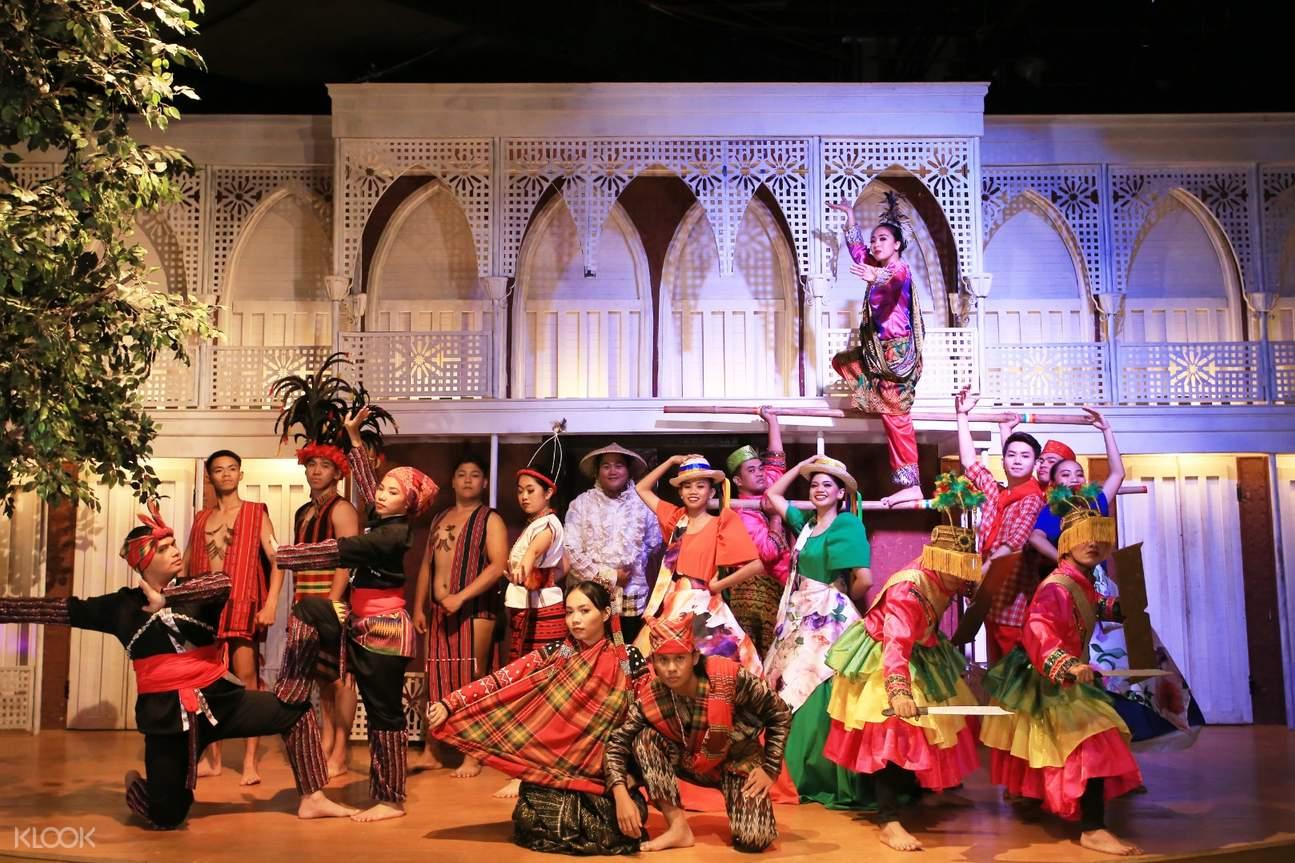 people performing in lakbay museo