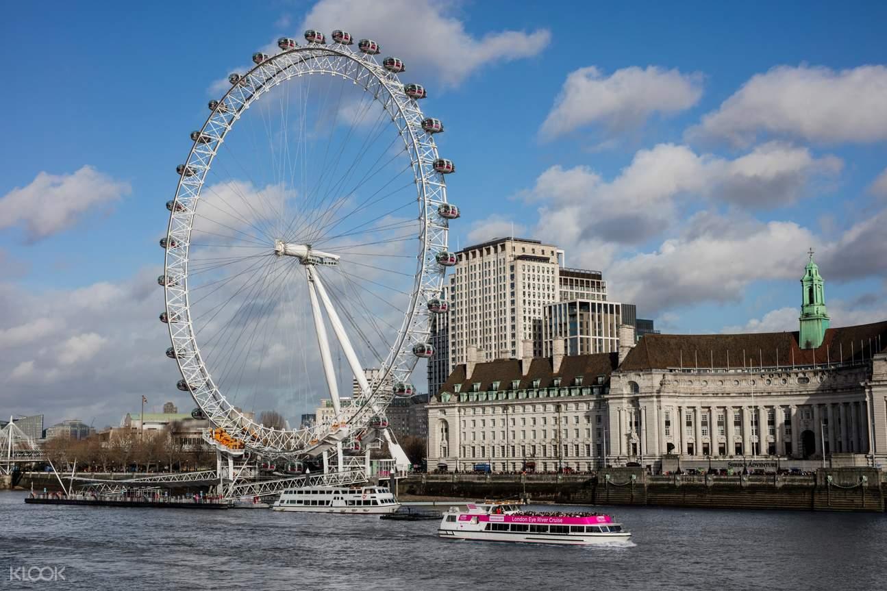 boat cruise ride near london eye