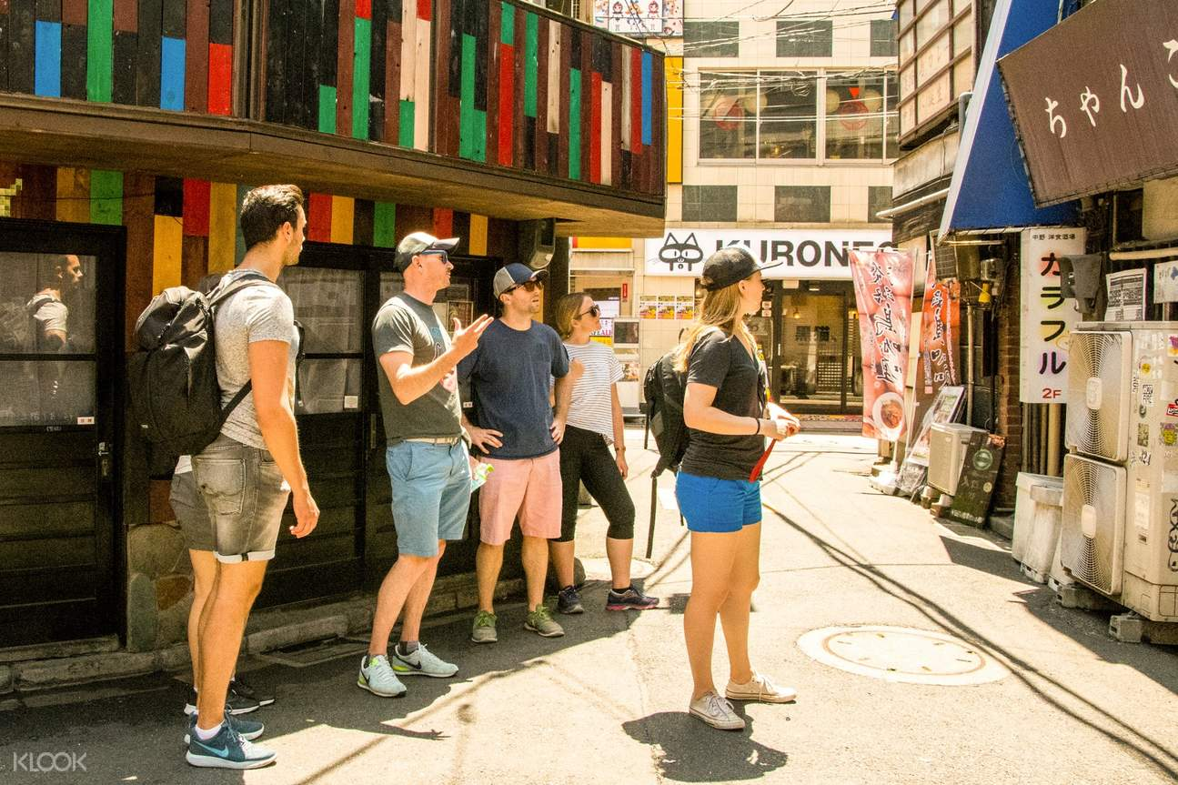 Tokyo West Side Walking and Street Food Tour