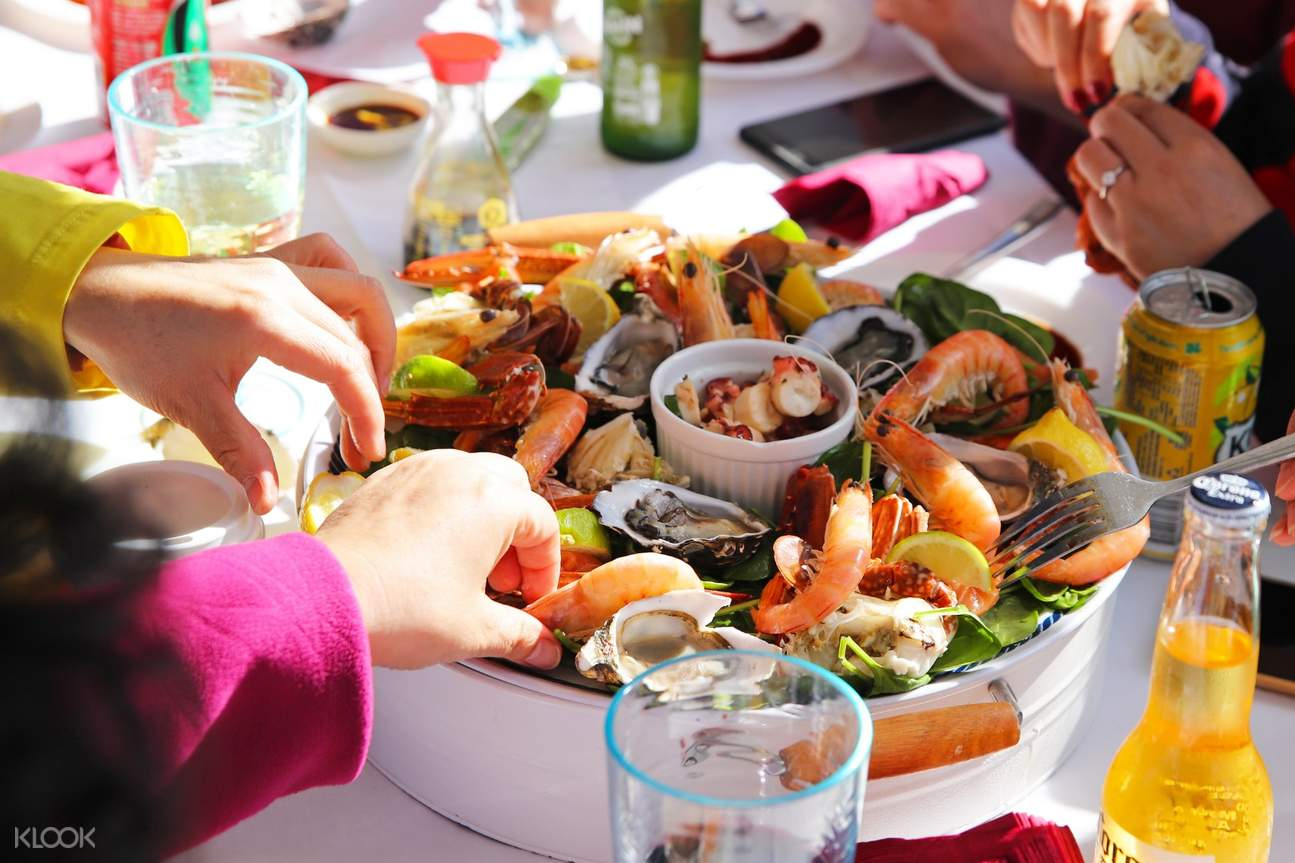 seafood dishes on rottnest island seafood experience