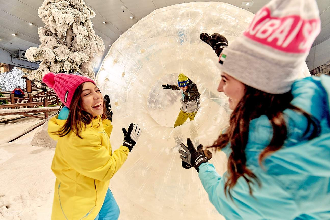 bola hamster manusia dubai tourism ski dubai