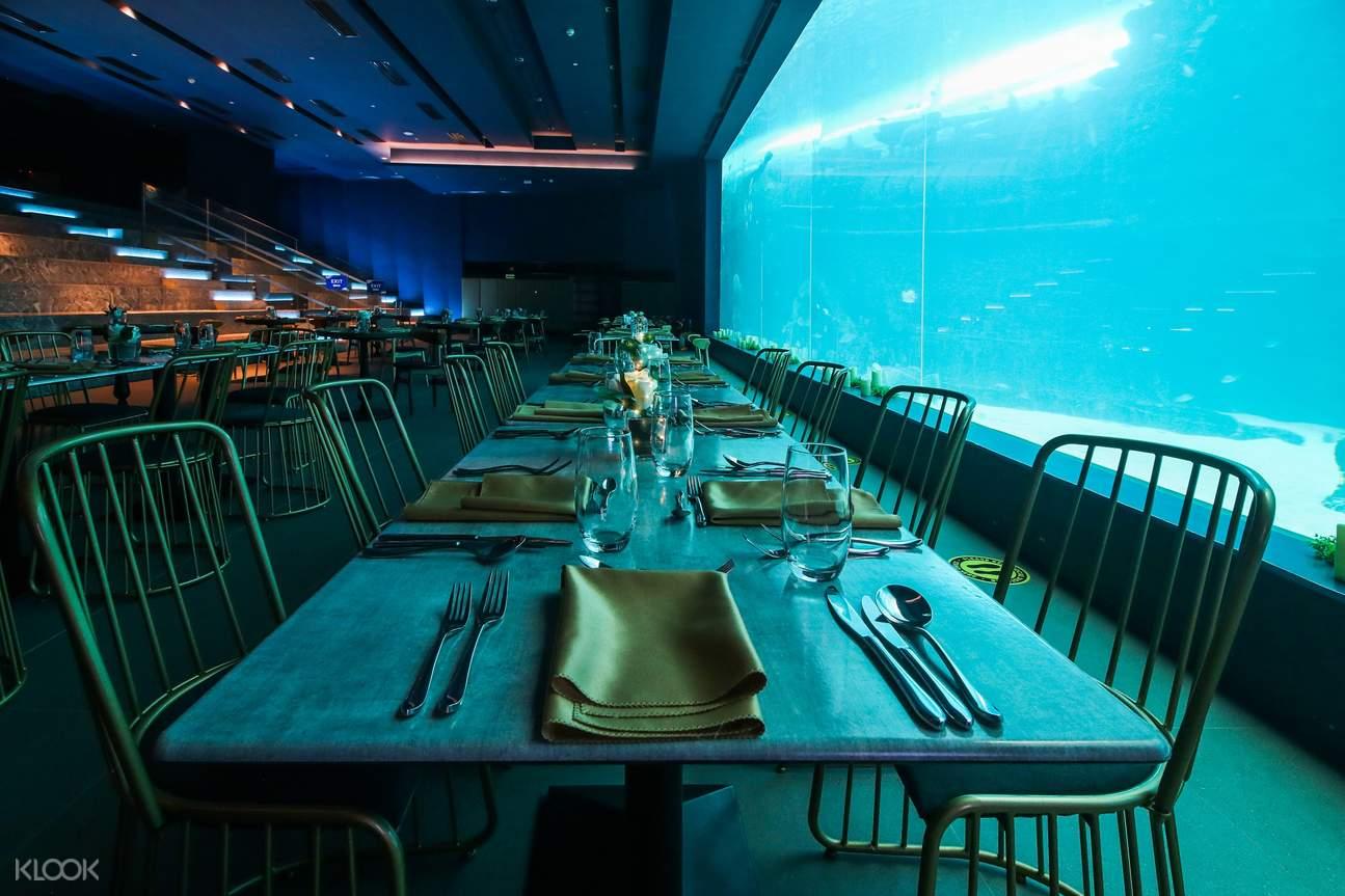 intimate restaurant at Cebu Ocean Park