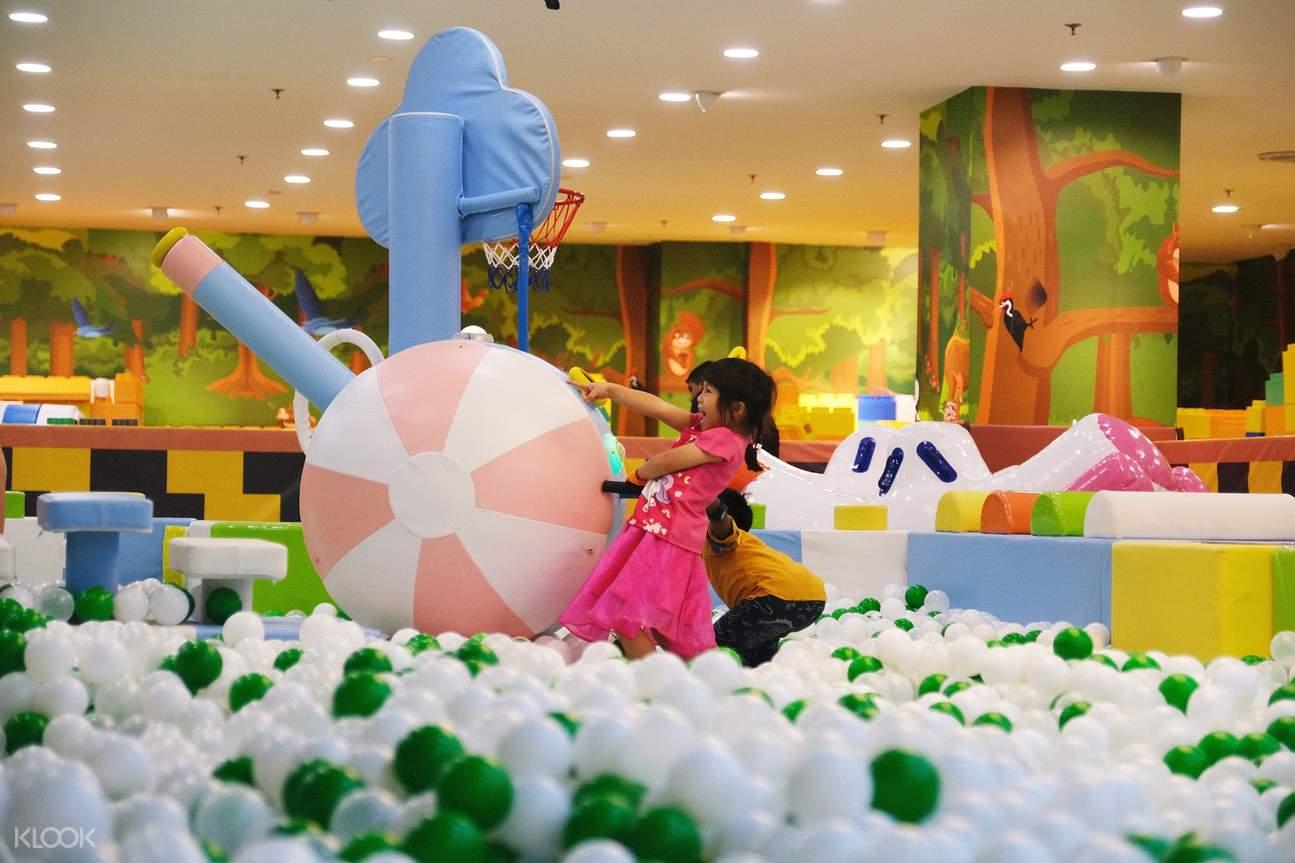 Utopia Jungle World Indoor Children Playground