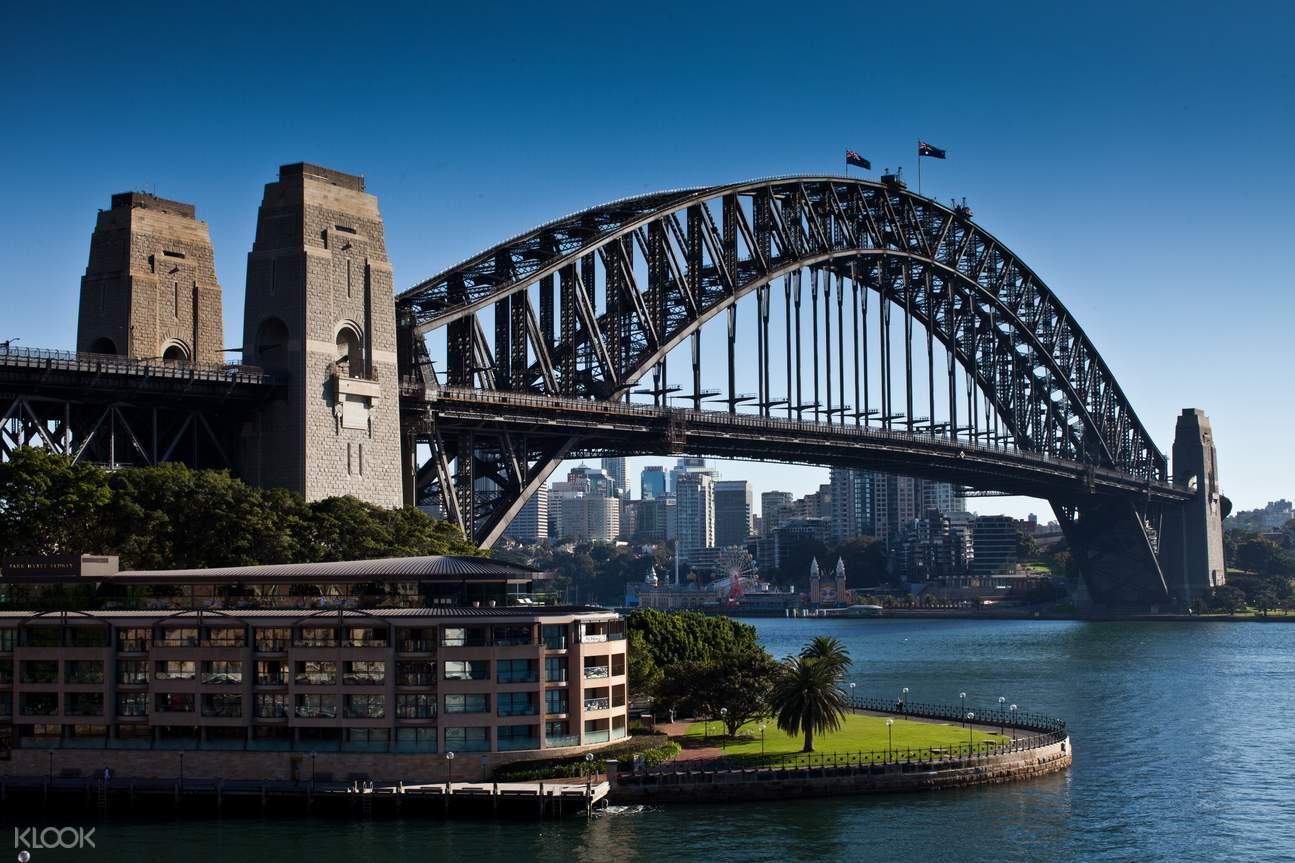harbour bridge climb sydney city