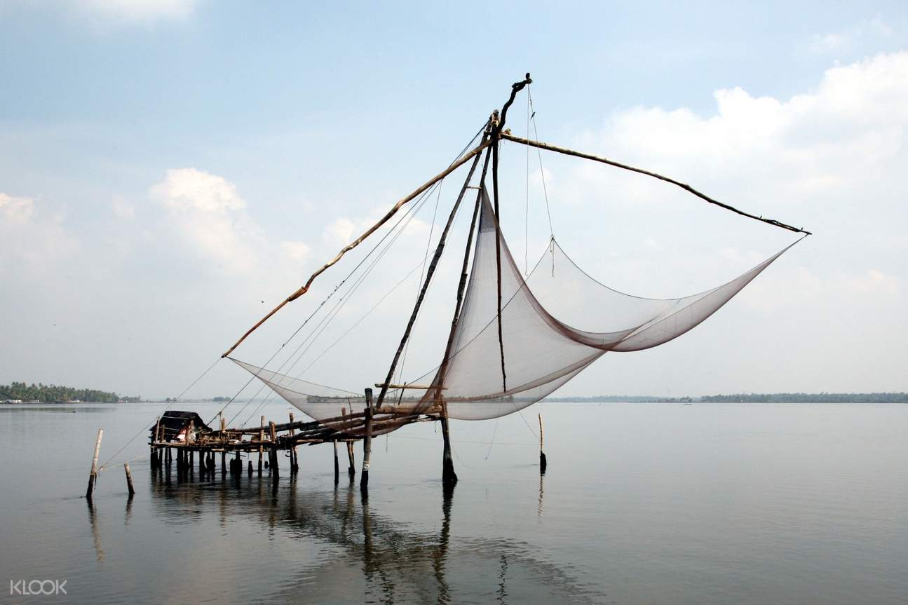 chinese giant fish nets in cochin