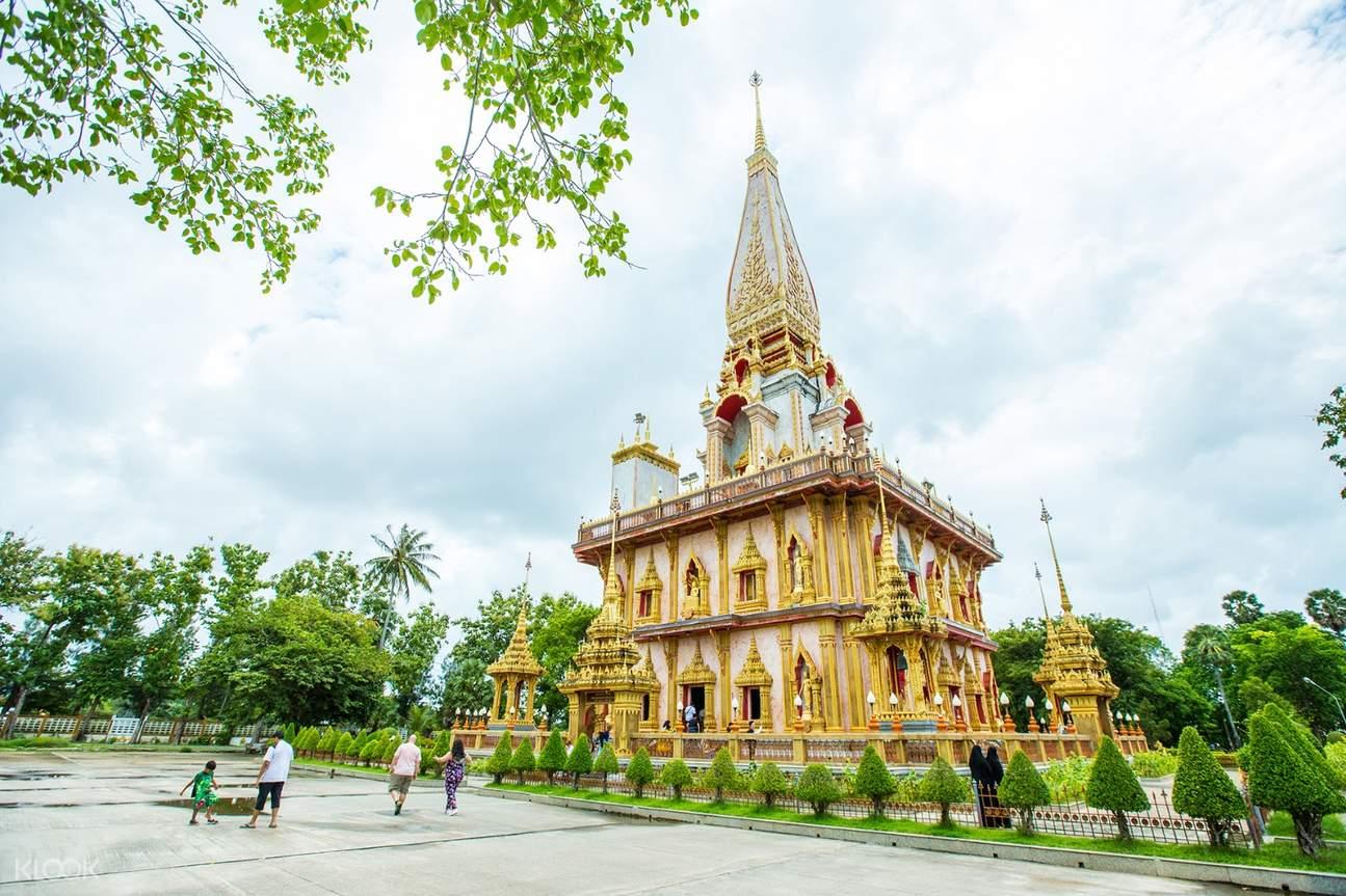 phuket sightseeing tours chalong temple