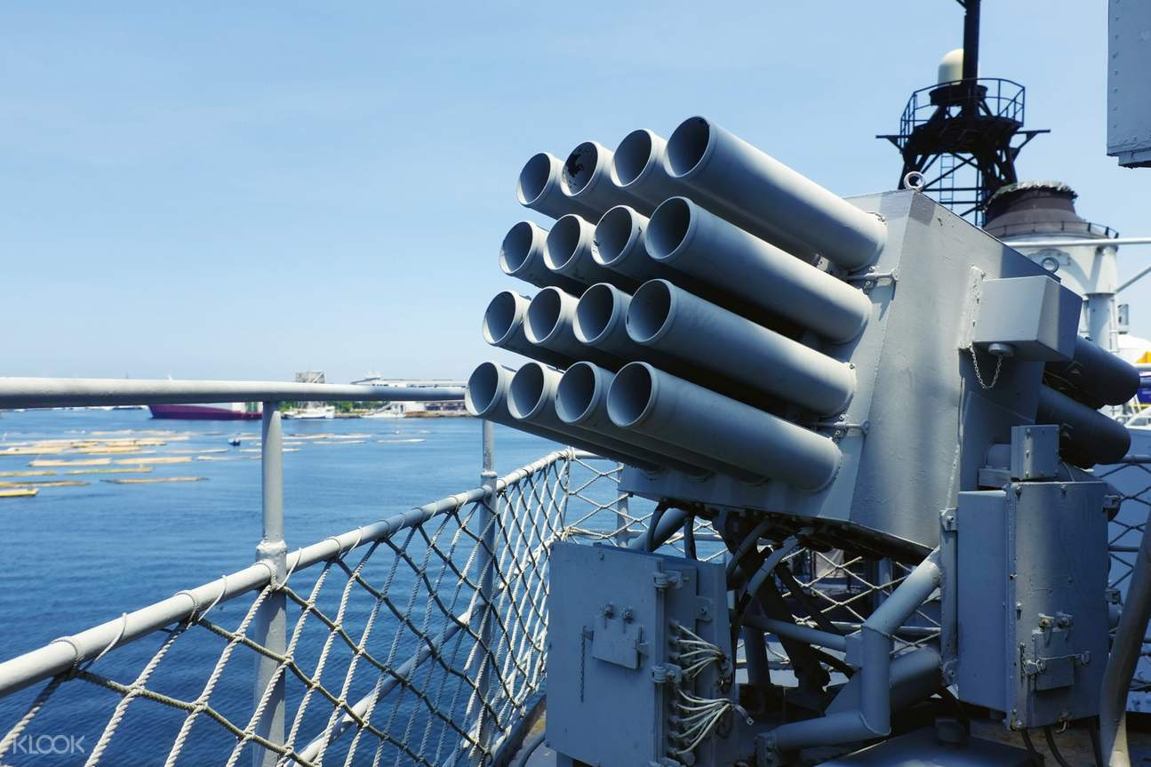 cannons on deck