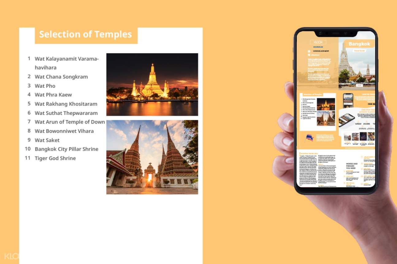 list of temples in bangkok