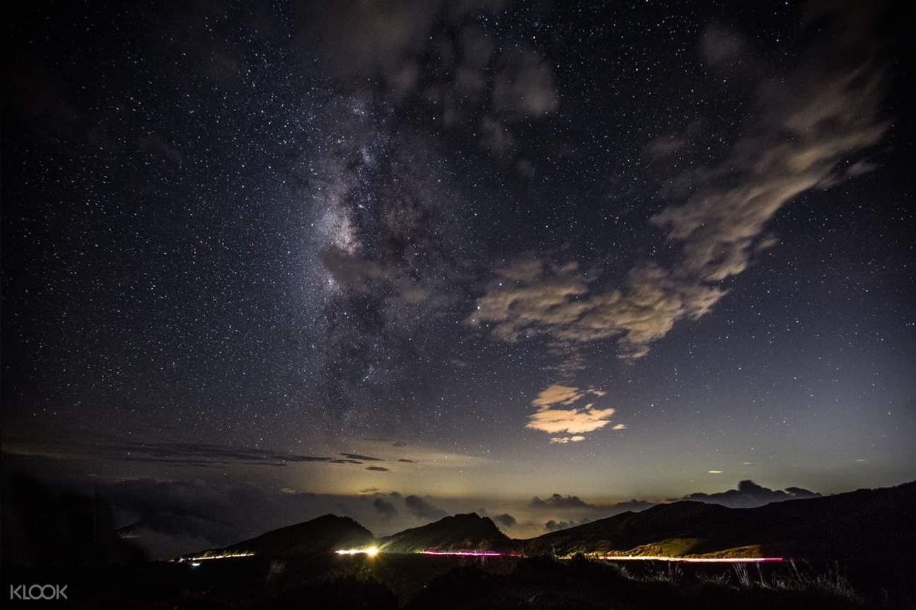 享受浩瀚銀河