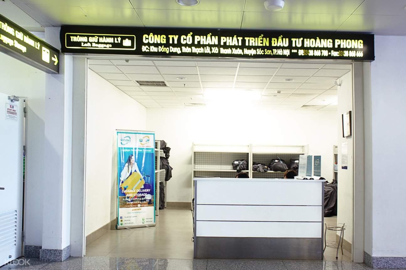 noi bai airport luggage service