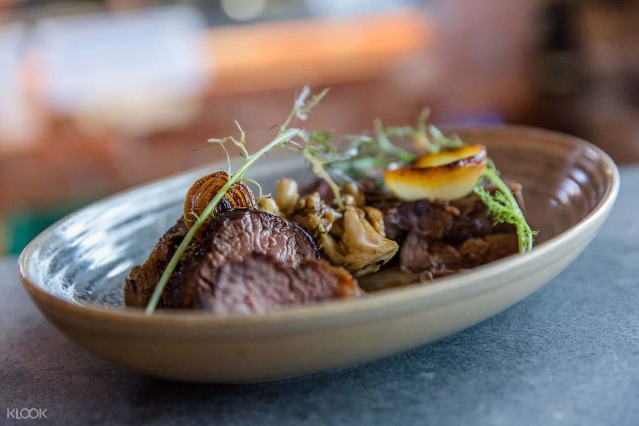 platter of beef