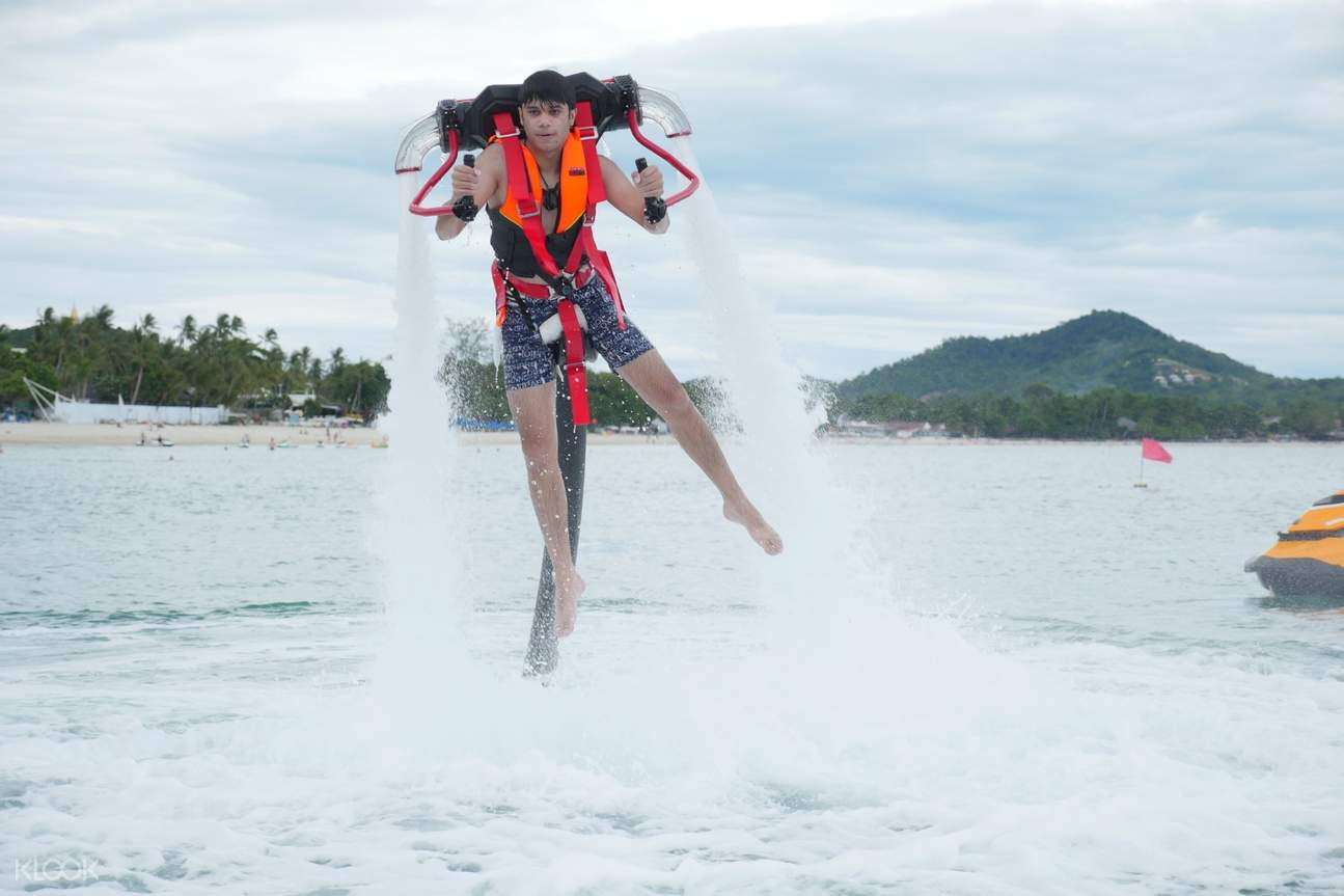 tourist water activity