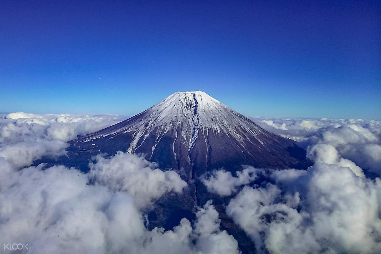 Fuji from the area of Lake Ashi