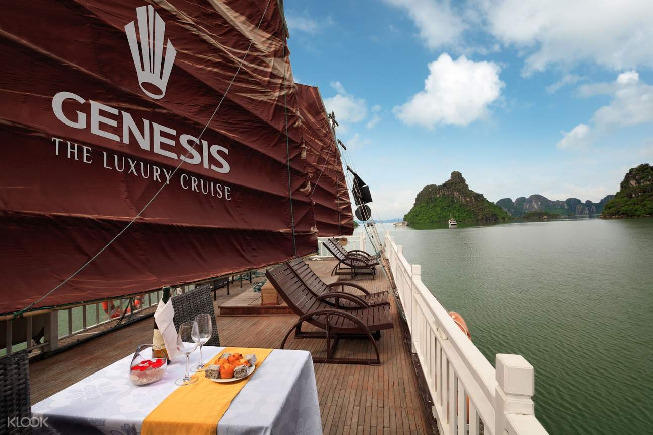 Ha Long Bay Cruise Tour from Ha Noi by Genesis Cruise