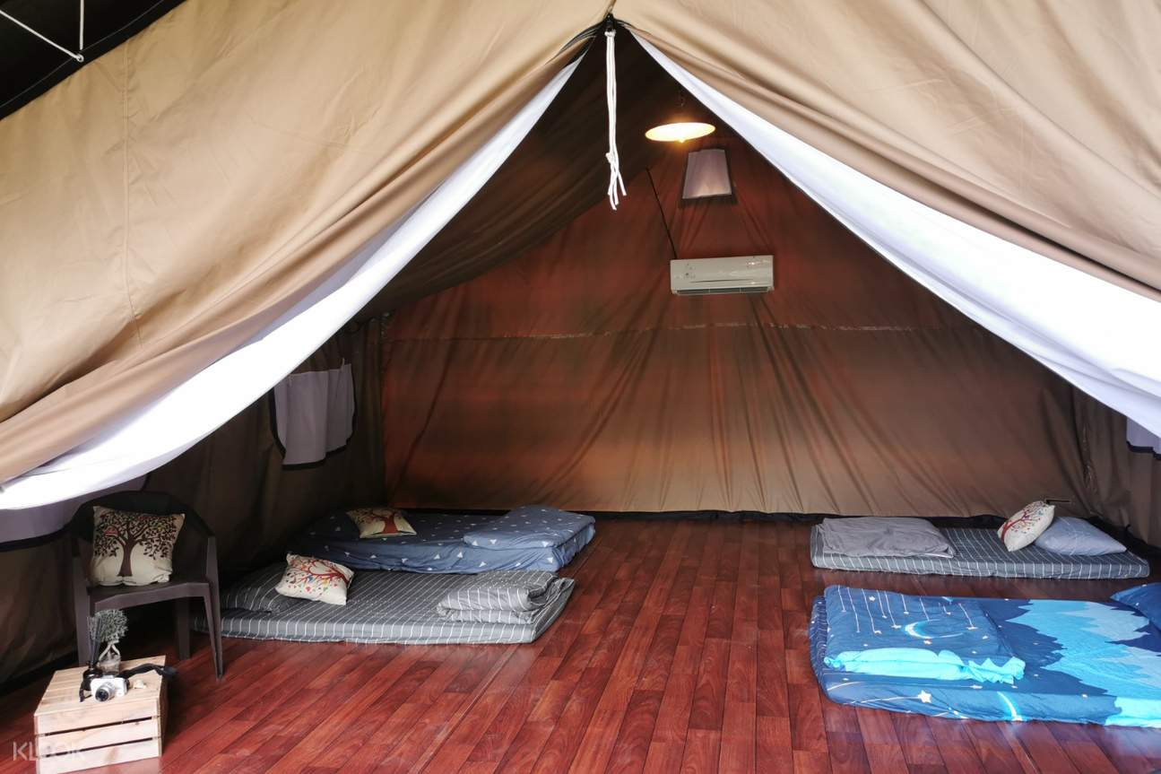 Safari Tent Inside