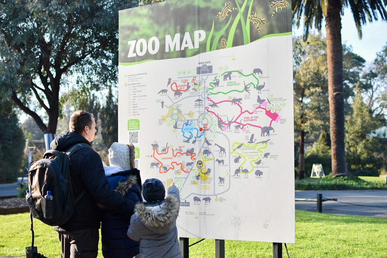 melbourne zoo ticket