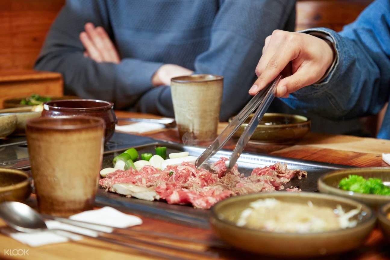 korean barbecue samgyupsal