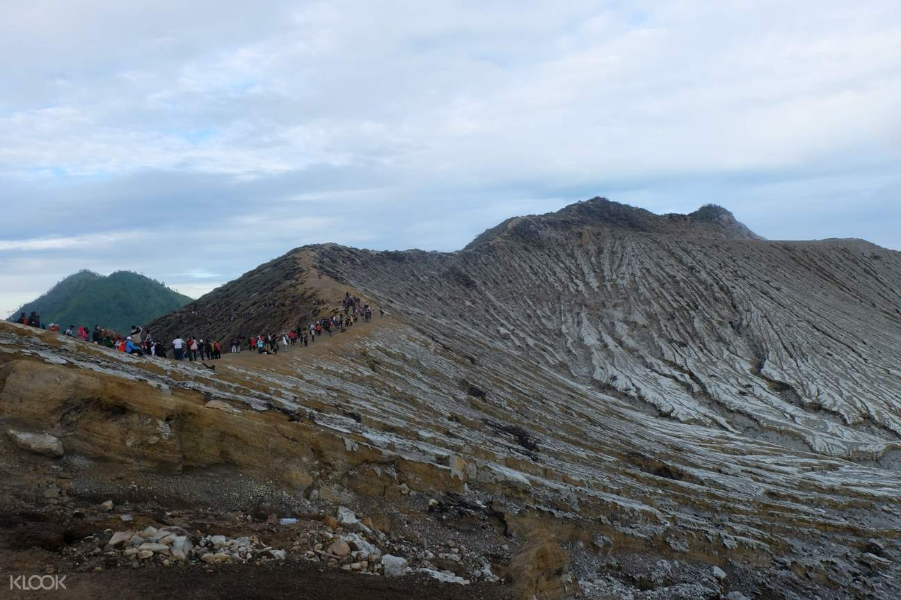 overview of ijen crater