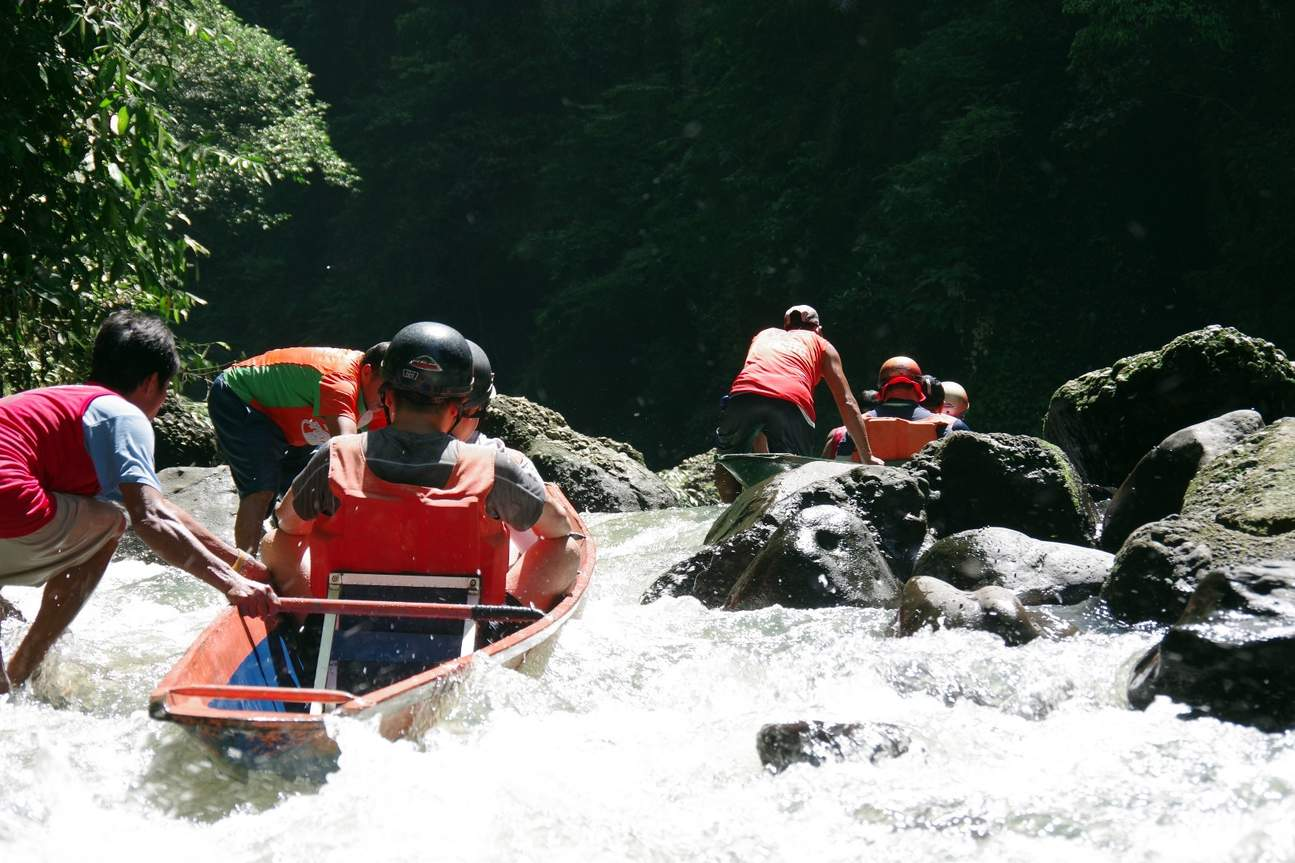 Shoot Past the Rapids Pagsanjan Falls