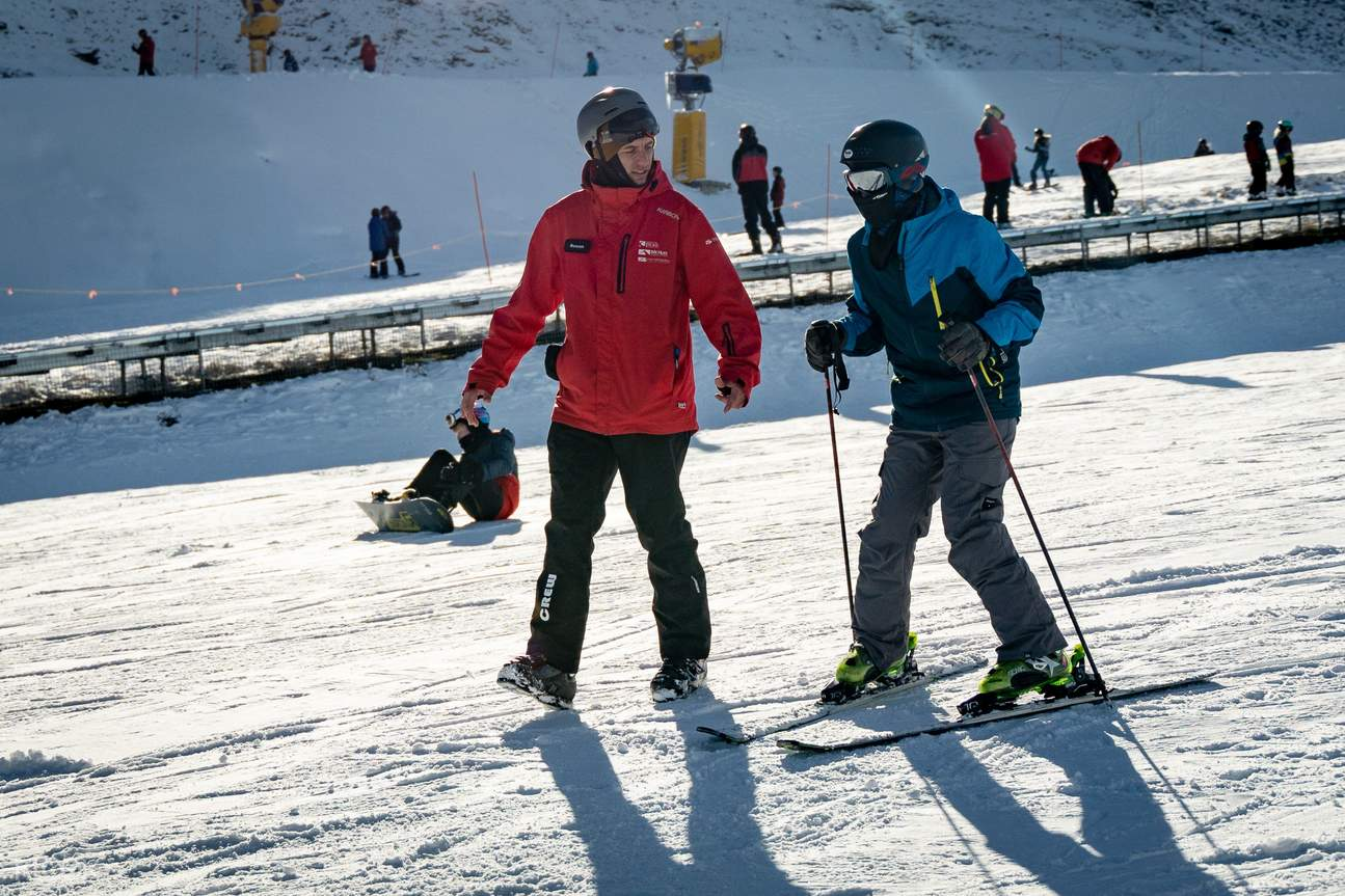 Queenstown ski lessons