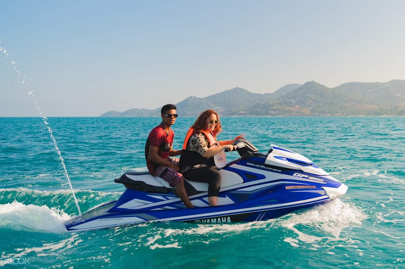 jetski ride in thailand