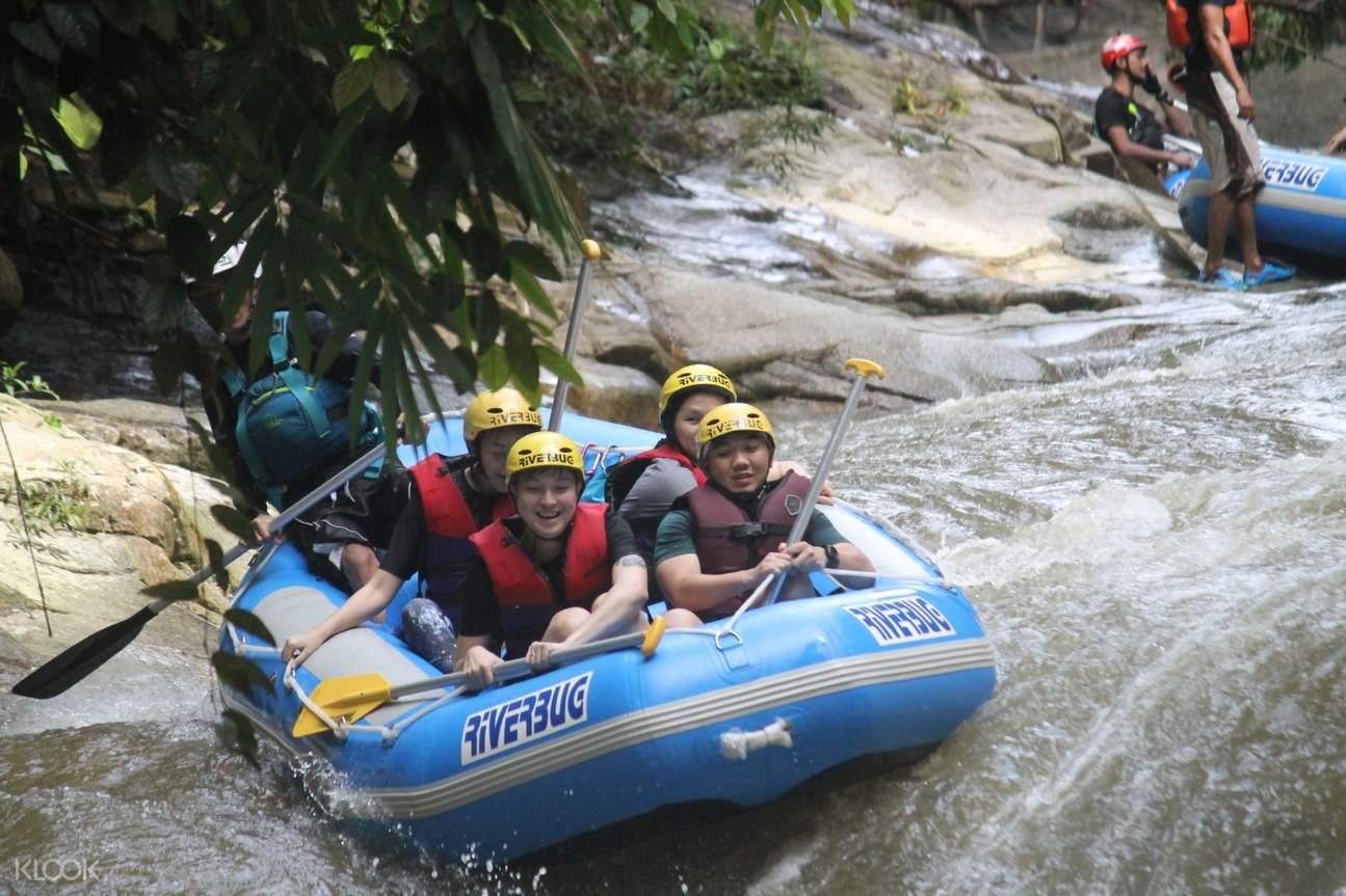 people rafting in ipoh