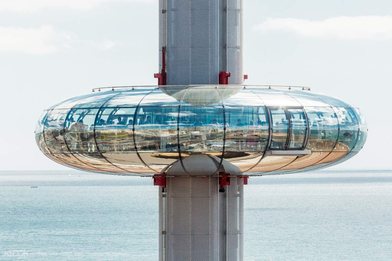 View I360 panoramic in front of the sea