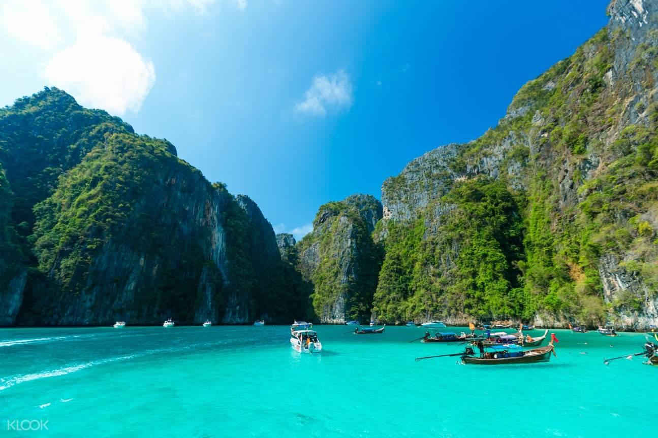 เรือคายัคที่หมู่เกาะพีพี
