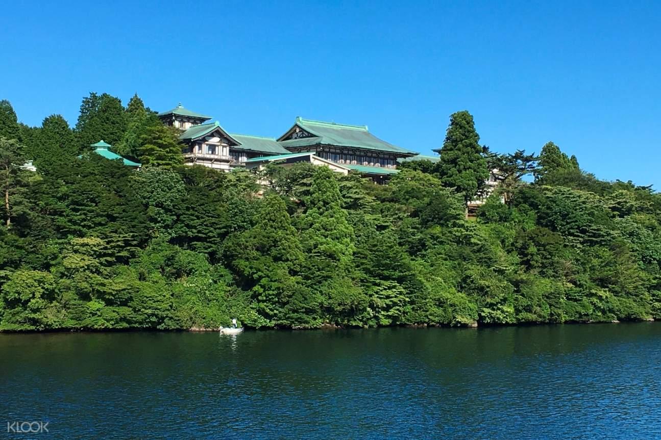nearby body of water at Ryuguden Honkan