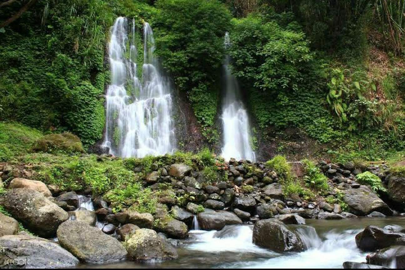 Visit Jagir Waterfall to refresh yourself after hiking the crater
