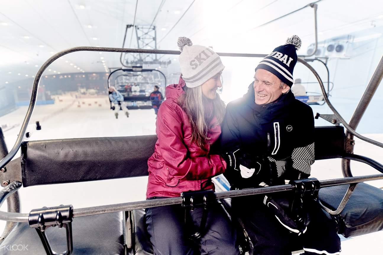 wisata bobsled dubai ski dubai