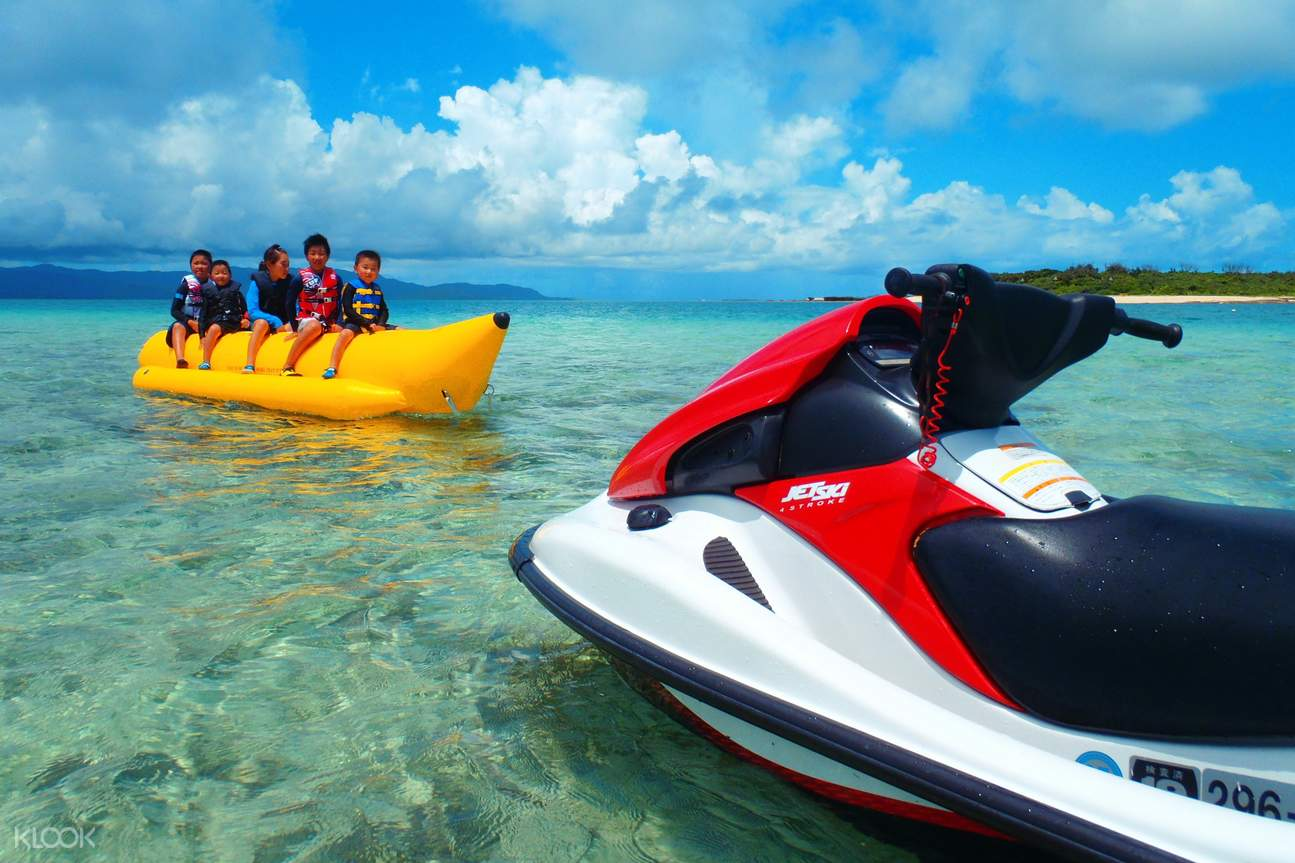 Spend the afternoon on unlimited rides on marine activities on this tour