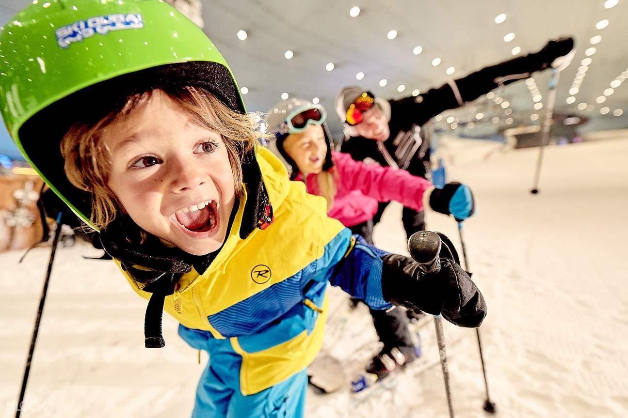 wisata penguin dubai ski duba