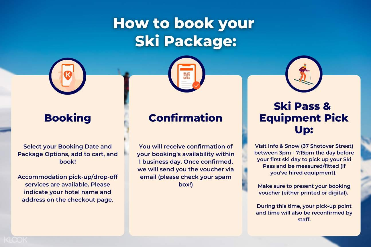 How to book your Ski Package